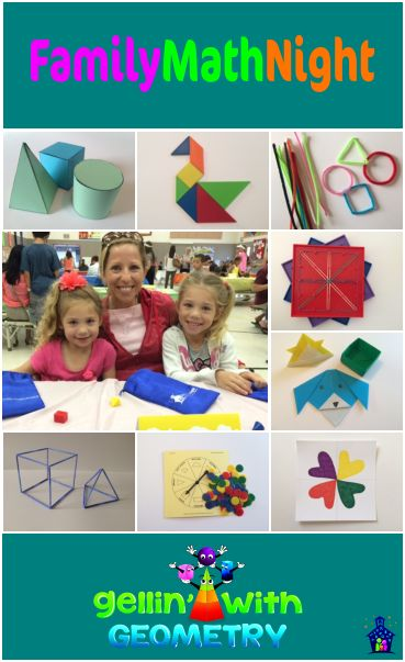 Super fun hands-on Family Math  Night activities. Great for those STEAM skills!
