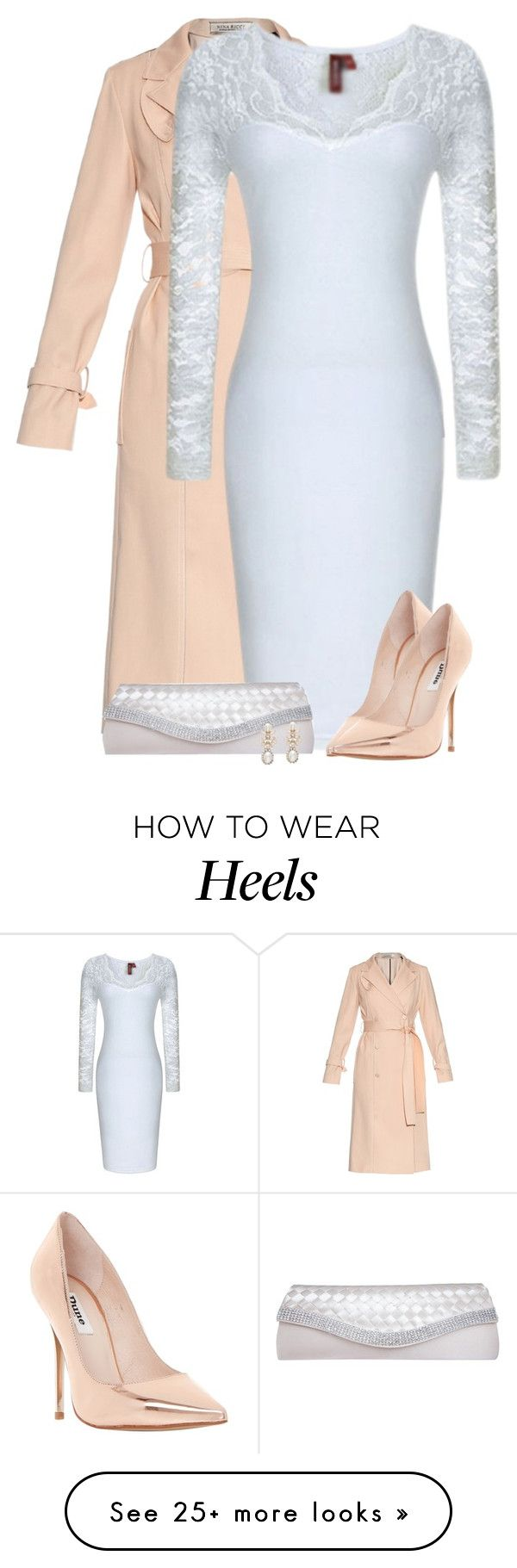 """""""White Dress"""" by daiscat on Polyvore featuring Nina Ricci, Dune, GCGme and Forever New"""