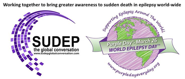 "Purple Day's Cassidy Megan says ""SUDEP is still not talked about enough. By highlighting it as part of Purple Day's global awareness effort, we hope to encourage conversation around the world.""  http://www.sudepaware.org/docs/Purpleday2015.html"