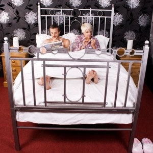 double bed original fantasy bed 1949 someone buy this for me