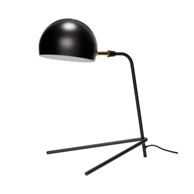 Black table lamp. Item number: 370410 - Designed by Hübsch