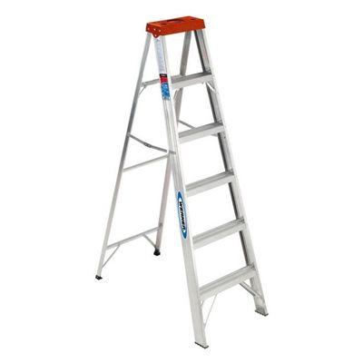 Werner 6-ft Type III Aluminum Step Ladder