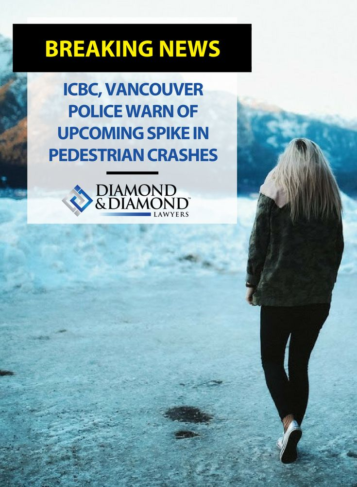 #WinterWeather and the decrease in daylight leads to almost twice as many accidents involving pedestrians from November to January. As part of its Annual Pedestrian Safety Campaign, the ICBC offers tips for #pedestrians to stay safe.