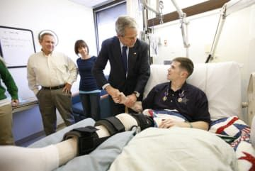 How To Thank A Soldier, By George W. Bush