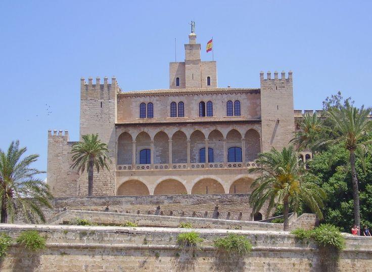 Palacio Real de La Almudaina, residencia oficial del rey en Mallorca.