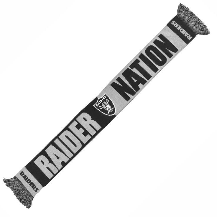 Oakland Raiders Scarf 2014 Slogan Sports Full Time