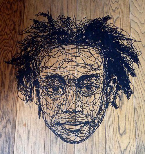 Esculturas de papel de Kris Trappeniers