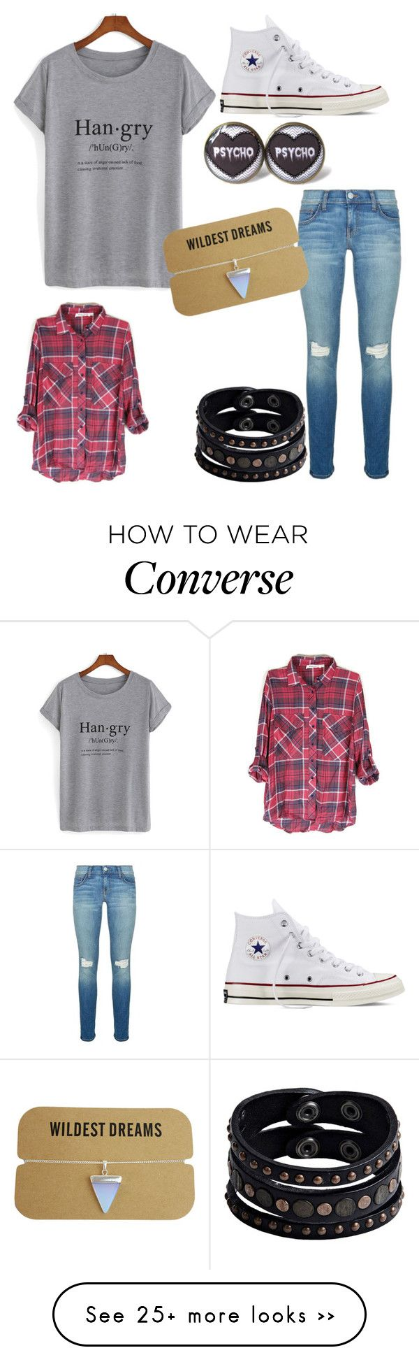 """""""Untitled #83"""" by madzfashion on Polyvore featuring Rebecca Minkoff, Converse and Replay"""