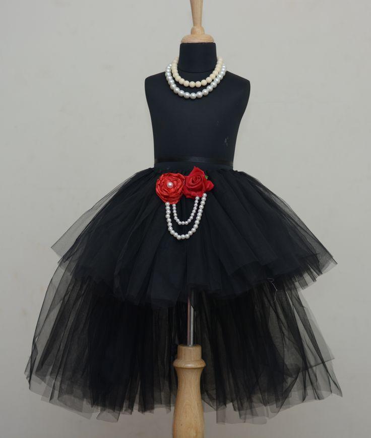 Little Diva High Low Tutu Skirt.  #babygirls #stylemylo #onlineshopping #tutu #kidsfashion #kids #partywear #designearwear
