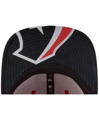 New Era Houston Texans 2017 Draft 9FIFTY Snapback Cap - Red/Navy Adjustable