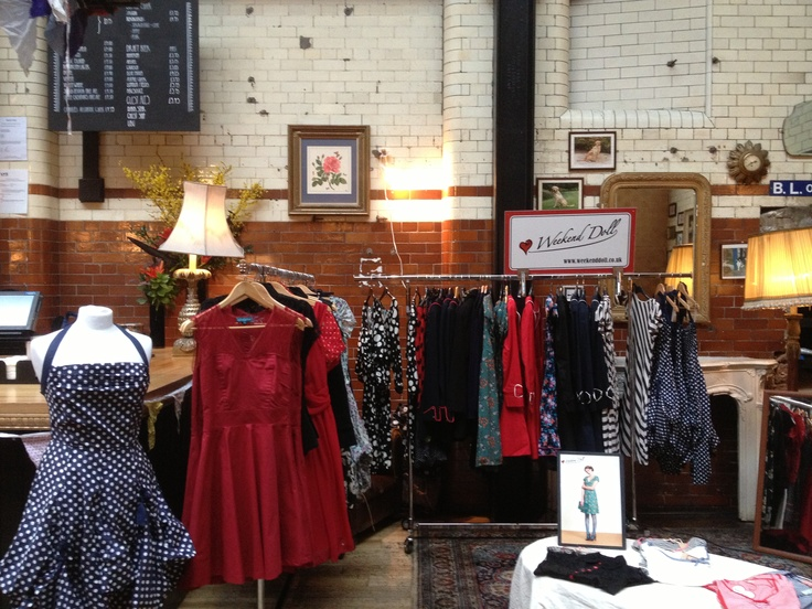 Our pop up store in Tooting Tram& Social