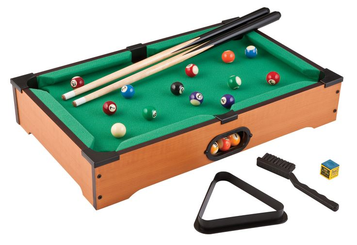 2' Table Top Pool Table & Accessories