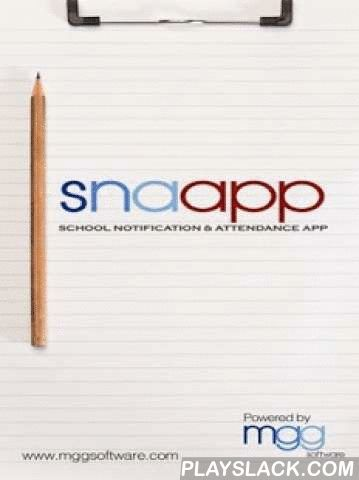 Snaapp  Android App - playslack.com ,  School Notification and Attendance App (snaapp) is the brainchild of Mggsoftware Pte Ltd. It is a comprehensive system that aims to ease the many administrative processes in the education industry.snaapp helps in students' attendance-taking and is also a two-way messaging platform where the school and parents can communicate about practically anything under the sun.The other perks that come along with snaapp include digitalisation of travel declaration and consent forms. Teachers can also have access to students' data via the pastoral care module. snaapp also allows school staff to record their 'check-in' and 'check-out' of their organisation.We are constantly looking into how we could further enhance snaapp to cater to your administrative needs. For more information, please Contactsnaapp@mggsoftware.comMGG Software Pte Ltd*Please note that only parents and staff in schools using snaapp would have an account. If you have further login problems, please send us an email at snaapp@mggsoftware.com. Thanks!