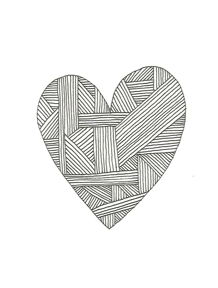 Postcard+with+heart+print+Hand+made+by+AngelinaFredriksson+on+Etsy,+kr100.00