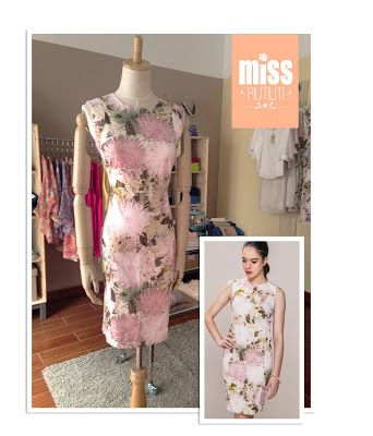 Miss Pilitiliti: Flores + tonos cálidos = Femenino y primaveral!!