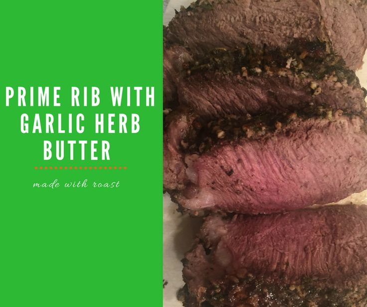 Guess what we did?! We made one of the recipes that you see on those short, mesmerizing food videos that are everywhere in social media.We've always been captivated by these short videos because they look so easy and good, but we've never made one. Until now! Matt discovered this Prime Rib with Garlic Herb …
