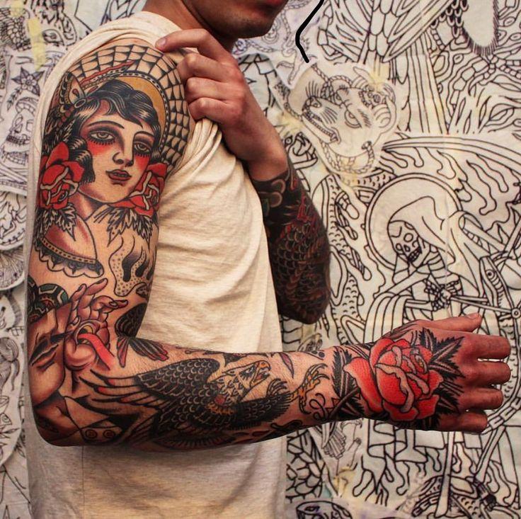 "Traditionelles Tattoo auf Instagram: ""#tattoo by @joel_soos … … … … #tradi …"