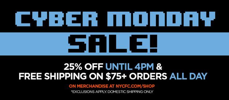 New York City FC Cyber Monday Sale