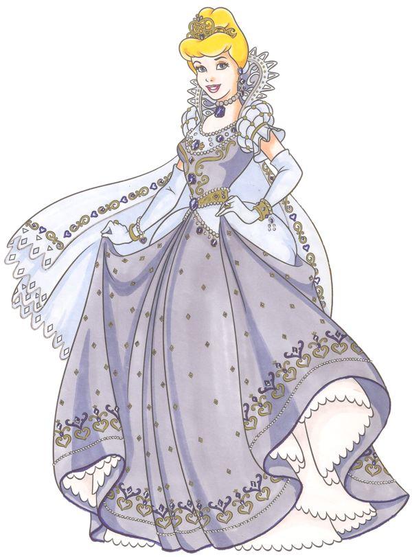 Disney Glamour 1950 Cinderella by Sil-Coke.deviantart.com on @deviantART