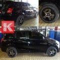Velg 237-5601B R15x6.5 Black Machine Face for Datsun Go Plus