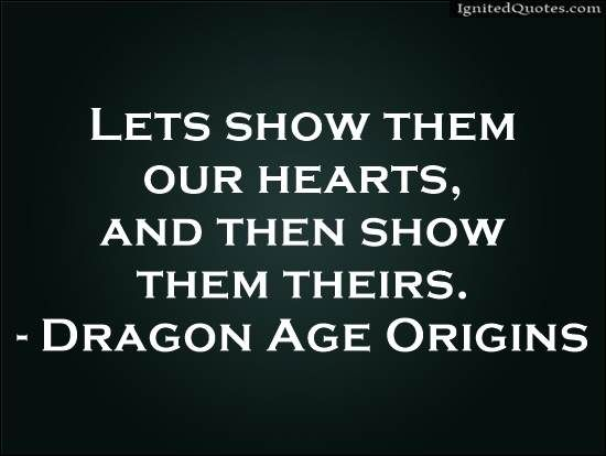 dragon age serious quotes - Google Search
