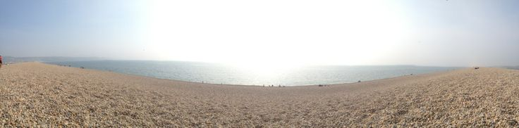 Chesil Beach in Bridport, Dorset