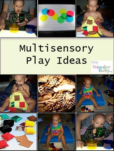 Touch, Listen & Look! Engaging Blind Babies in Multisensory Play