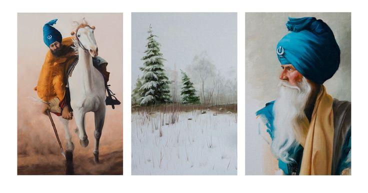 Parminder Singh   Paintings