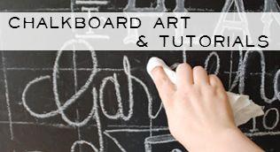 {Ella Claire}: My Seasonal Chalkboard Art Roundup~ Free Templates and Tutorial