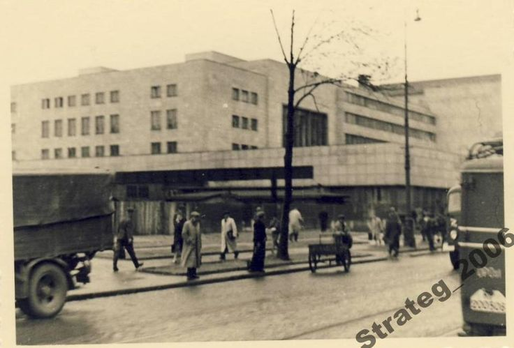 Dworzec Główny w czasach okupacji.