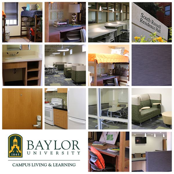 After a year of renovation, #Baylor's South Russell is almost ready for Move In!Baylor Stuff, Baylor Dorm, Baylor South, Baylor National