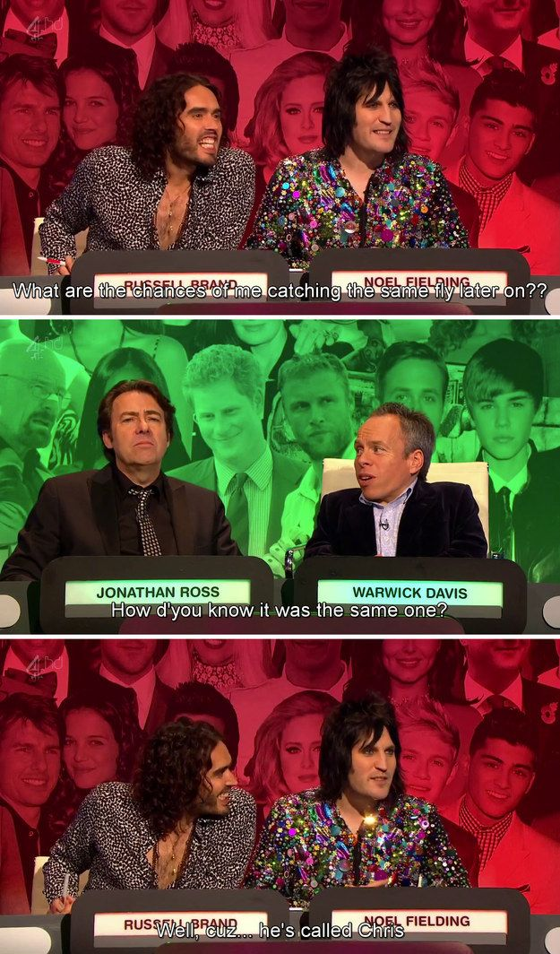 "Which they named Chris. | 27 Times ""The Big Fat Quiz Of The Year"" Made You Literally LOL"