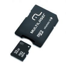 Cartão Micro SD 32GB - Multilaser MC111