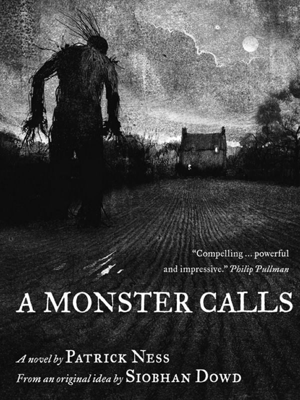 """A Monster Calls"" by Patrick Ness. Illustrated by Jim Kay"