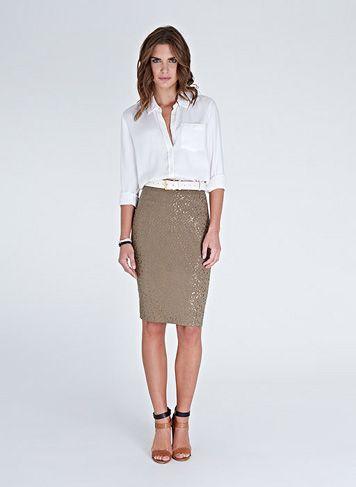 Sophia Sequin Skirt