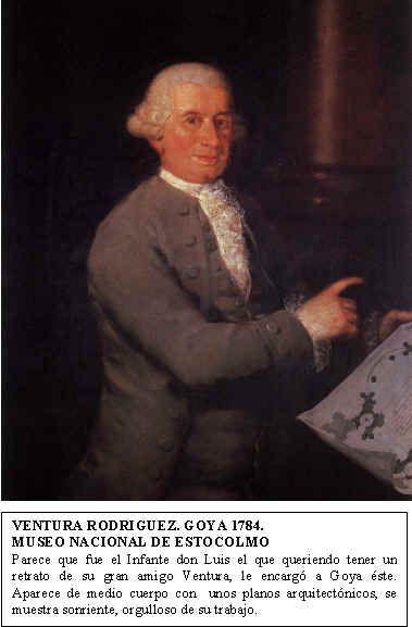 Ventura Rodríguez Tizón. Arquitecto del Palacio de Boadilla