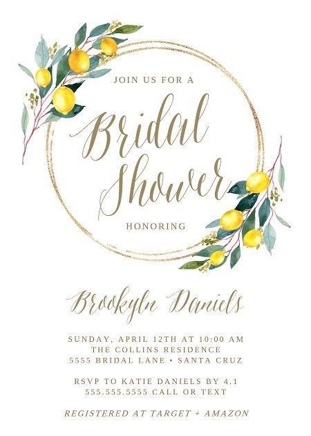 9f746e67bf1 Lemon party bridal shower ideas