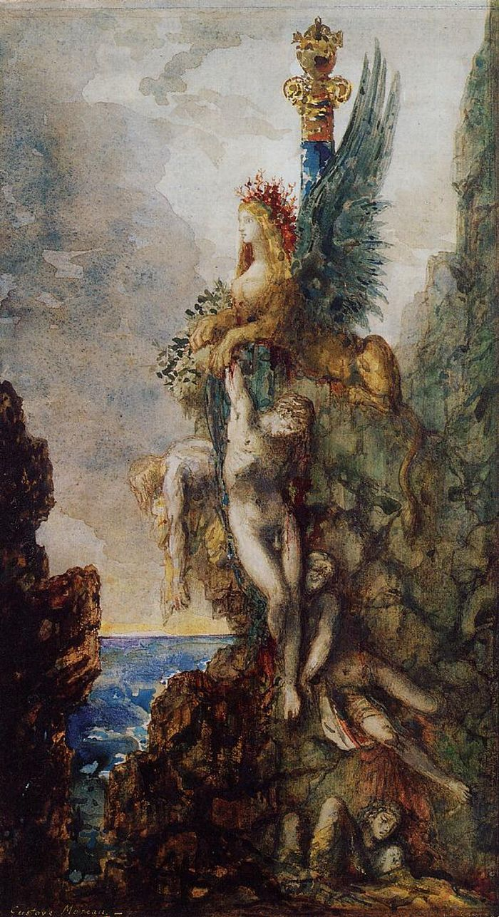 The Sphinx, 1886 ~ by Gustave Moreau…