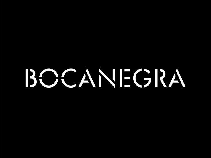 Bocanegra Studio identity - Logotype -bocanegrastudio.com