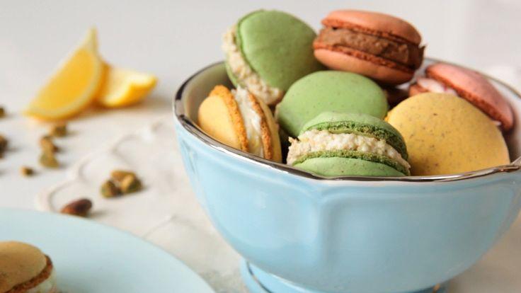 French Macarons - Four Ways