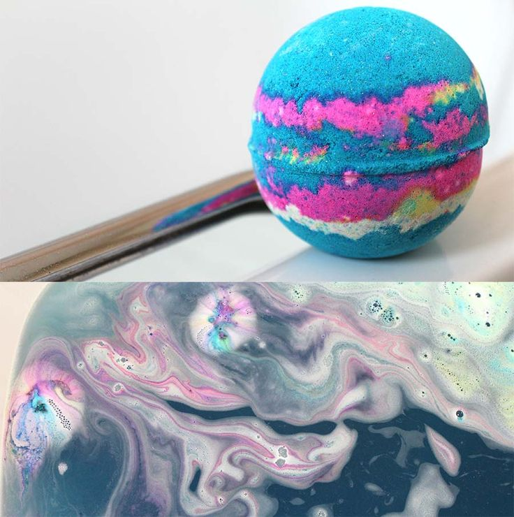 Lush Intergalactic bath bomb.- used this the other day #newfavourite