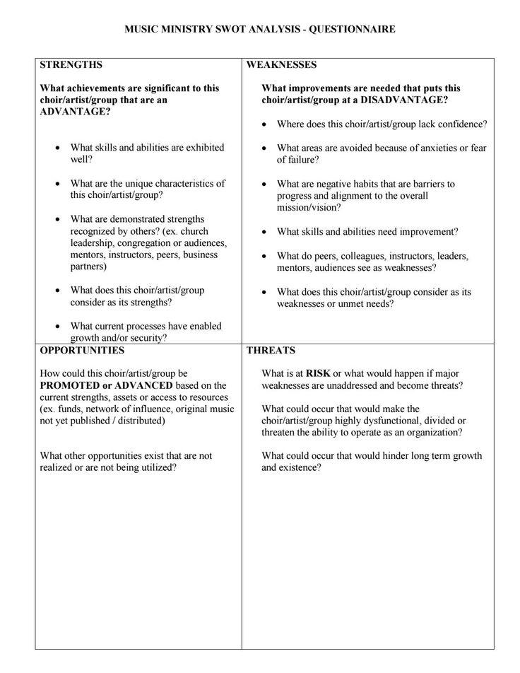 Les 25 meilleures idées de la catégorie Échantillon questionnaire - church survey template