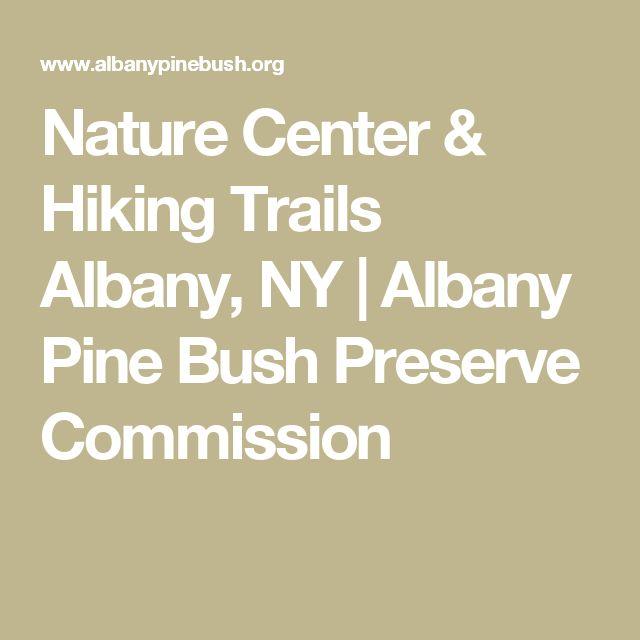 Nature Center & Hiking Trails Albany, NY | Albany Pine Bush Preserve Commission