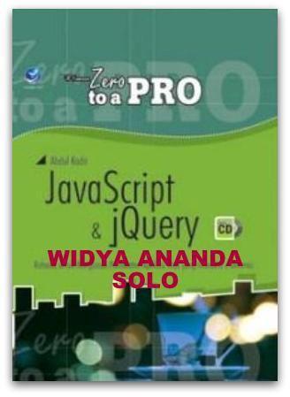 From Zero To A Pro: Java Script Dan jQuery, Rahasia Untuk Menguasai Pembuatan Aplikasi Web Yang Interaktif Dan Dinamis +cd  Kategori(Sub): Komputer (Pemrograman) ISBN: 978-979-29-3987-3 Penulis: Abdul Kadir UkuranHalaman: 20x28 cm  x+454 halaman EdisiCetakan: I, 1st Published Tahun Terbit: 2013 Berat: 928 gram Harga: Rp 162.000 Sinopsis Buku yang sangat cocok bagi yang ingin belajar membuat kode dengan JavaScript dan jQuery  untuk membuat halaman web yang interaktif dan dengan banyak contoh…