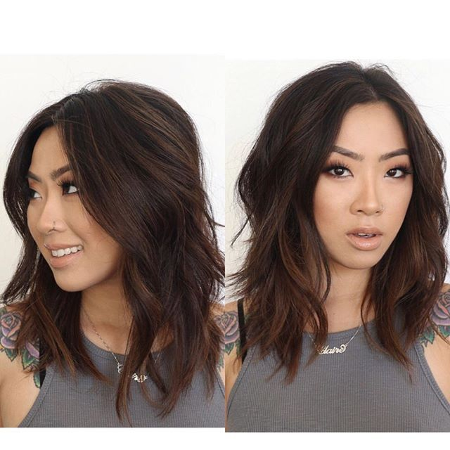 Yaaaas! And this is how it looks in real life! Thank you so so much again babe for always trusting me and having me do your hair babe ❤️ love you @heyclaire | #annaleefiorino #chazdeanstudio