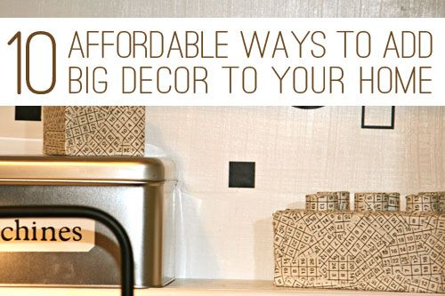 An Affordable Way To Add Color To A Room