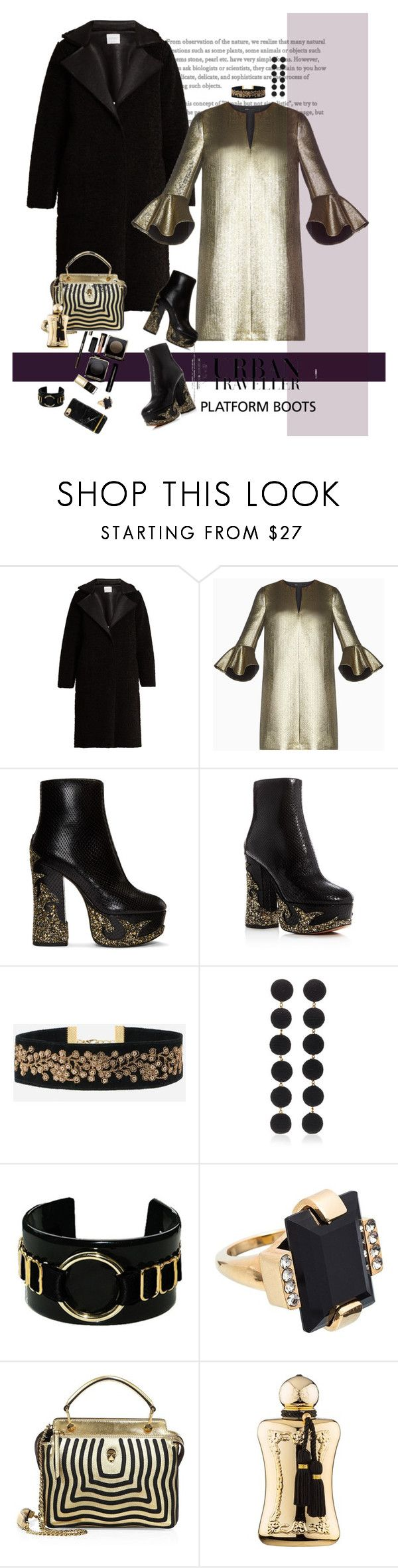 """""""platform boots"""" by justirena ❤ liked on Polyvore featuring Velvet by Graham & Spencer, BCBGMAXAZRIA, Marc Jacobs, Bibi Marini, Bordelle, Marni, Fendi and Parfums de Marly"""