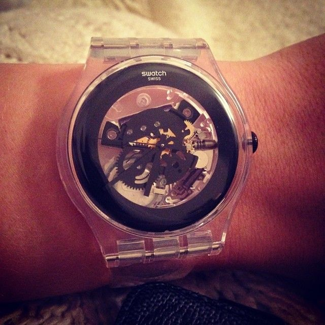 #Swatch: Swatch Transparents, Watches Fashion, Perfect Jewelry, Fashion Swatch, Swatch Fever, Ja Kivaa, Sweet Pretty, Pientä Ja, Instagram Photos