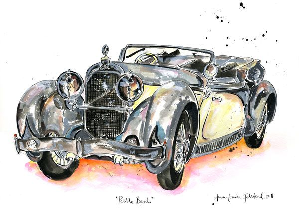 Austro Daimler, commissioned by Dr.Wolfgang Porsche at Pebble Beach in 2011