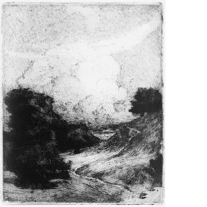 Molnet Mjukgrundsetsning 24,3 x 19,8 cm